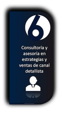Consultoría y asesoría en estrategias y ventas de canal detallista